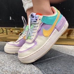 🌈Brand New Nike Air Force 1 Shadow🦄️